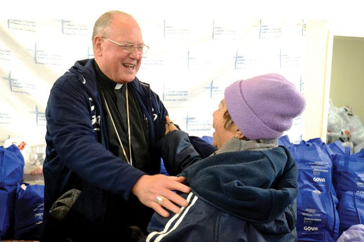 """When we look at you, we see Jesus,"" said Archbishop Timothy Cardinal Dolan."
