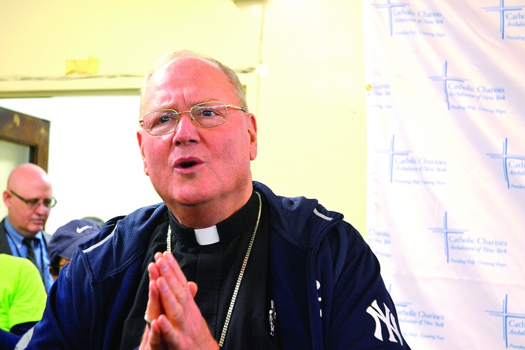 Archbishop Dolan was a surprise guest.