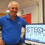 Ctech offers magnifying glasses for those with severe vision problems.