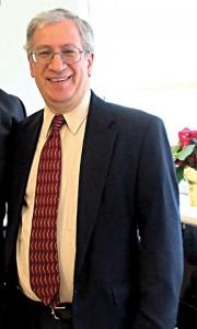 El homenajeado Steve Simon.