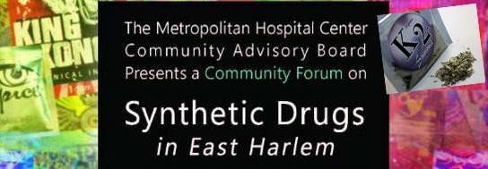 Synthetic marijuana will be among the substances discussed.