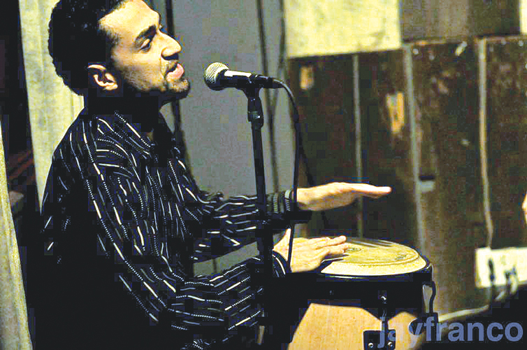"Artist Hector ""Papote"" Jiménez will perform."