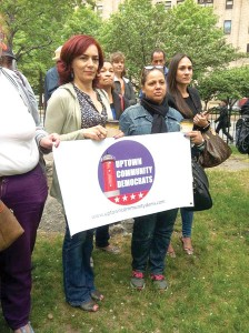 The UCD is now the fourth Democratic club in Northern Manhattan.  Photo: Facebook/Uptown Community Democrats