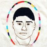 El Frijolito Artist: Carlos Lorenzo Paulina (Mexico)/ Media: Embroidery