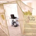 La Casita de Julia, part of the Center's installation on poet Julia de Burgos.