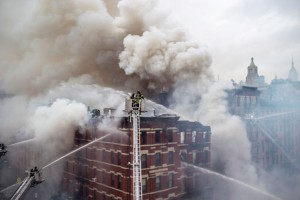 An illegal gas hook-up led to an explosion at 121 Second Avenue in March.