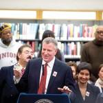 Mayor Bill de Blasio launched the idNYC initiative earlier this year.