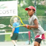 Tennis juniors look to become tennis stars of the future through the Tennis Academy.