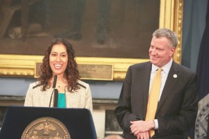 Lisette Camilo serves as Director of the Mayor's Office of Contract Services; she was appointed by Mayor Bill de Blasio.