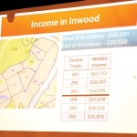 Discussing income thresholds.