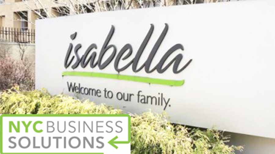 Isabella will host the Small Business Town Hall.