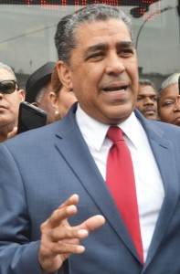 """[This] goes against the fundamental concept of this nation,"" said Senator Adriano Espaillat."