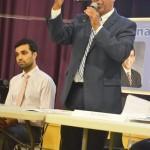 """Our voices have to be heard,"" said Senator Adriano Espaillat."