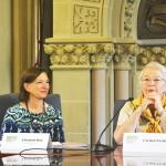 """""""We want to make sure that parents have a voice,"""" said Schools Chancellor Carmen Fariña."""