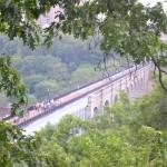 The restored bridge today.