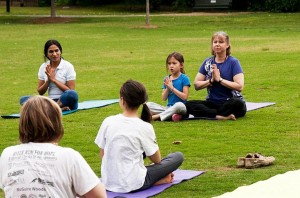 The Fort Tryon Park Trust invites children and parents/caregivers for a day of yoga.