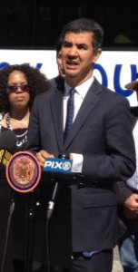 """""""We have to get the resources we need,"""" said Councilmember Ydanis Rodríguez."""