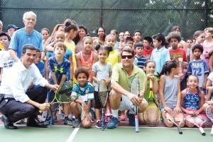 "Founder Eligio ""Leo"" Reynoso (center, with glasses) established the program in 1997."