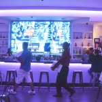 The restaurant offers a full bar.