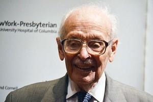 Philanthropist Eugene Lang in 2013.