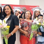 Parents and relatives were also recognized.