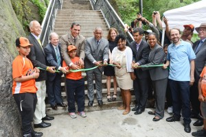 Thursday's ceremony marked the 102nd anniversary of the stairway's dedication.