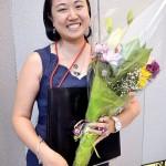 Program Coordinator Sharon Kim.
