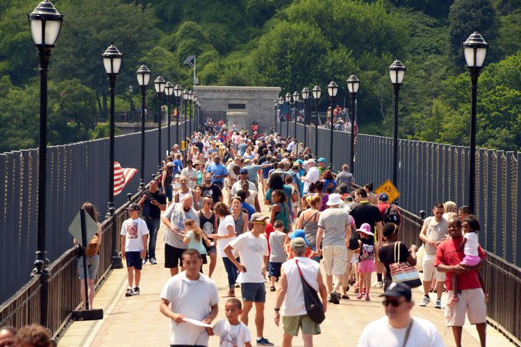 The High Bridge reopened on June 9th.