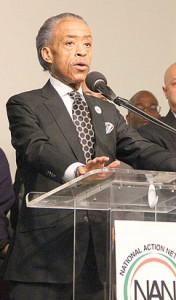 Reverend Al Sharpton.