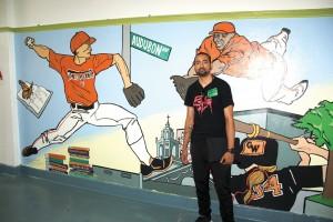Graphic artist Edwin Ureña is an alum.