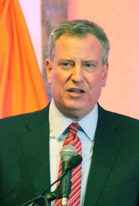 Mayor Bill de Blasio has announced that the city would provide $22 million in mental health funding.