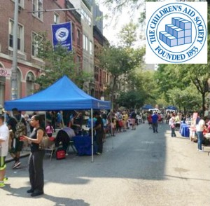The East Harlem Youth Fair is sponsored by the Children's Aid Society.