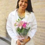 """I want to give back,"" says medical student Denisse Rojas."