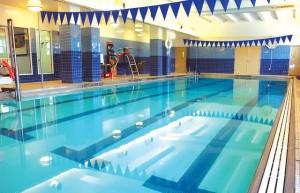 The Harlem YMCA pool.
