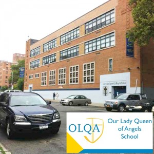 Our Lady Queen of Angels School will host Pope Francis.