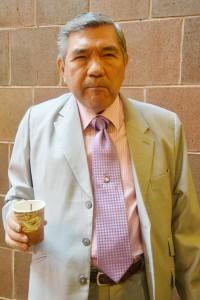 """""""Me siento agradecido por el honor"""", dijo Herless Sun, conductor de East Harlem."""