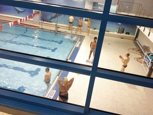Recreation centers offer indoor options.