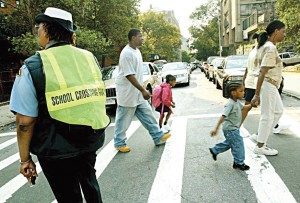School crossing guards are needed.