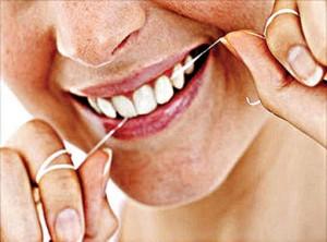 Make flossing a daily activity.
