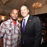 Ware and Gov. Cuomo. Photo: Office of the Governor - Kevin P. Coughlin