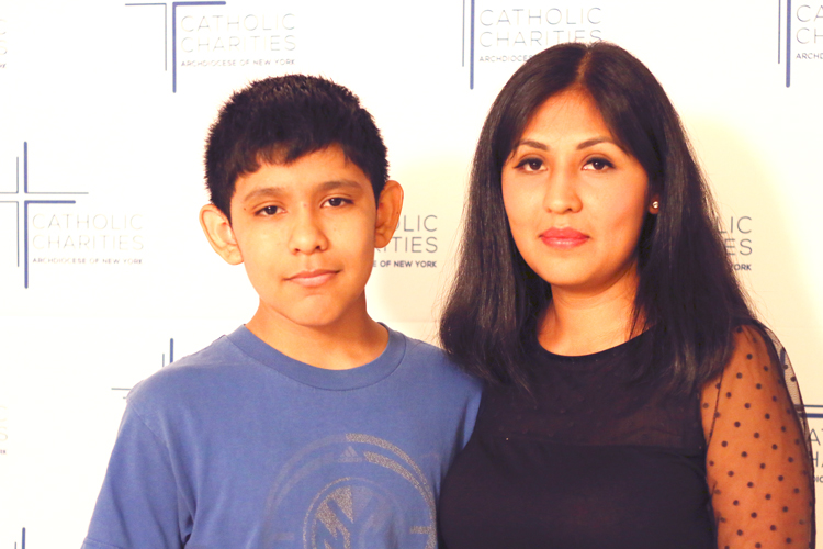 Odette Manzano and her son Steven are preparing to meet Pope Francis.