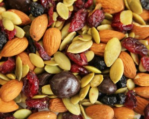 Create your own trail mix.