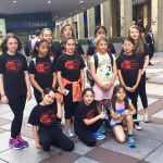 Students prepare to perform at Madison Square Garden this past June.