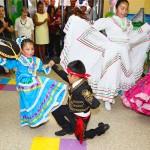 Performers from the Folclórico Espíritu de México.