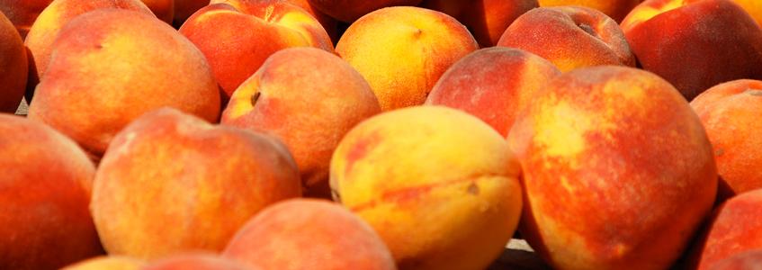 Reach for a peach.