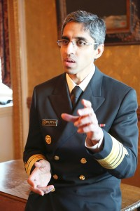 """[Walking] is something all of us can do,"" said the Surgeon General Dr. Vivek Murthy."