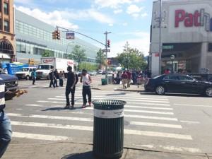 Pedestrian safety was a point of focus.
