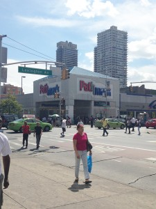 The East Harlem intersection.