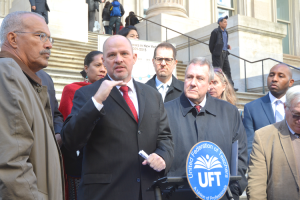 """We still have a long way to go,"" said UFT President Michael Mulgrew."
