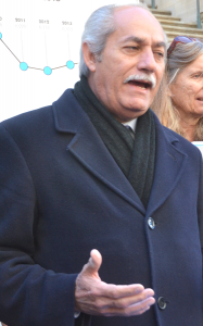 Assemblymember Guillermo Linares was a teacher in the 1980's and 1990's.